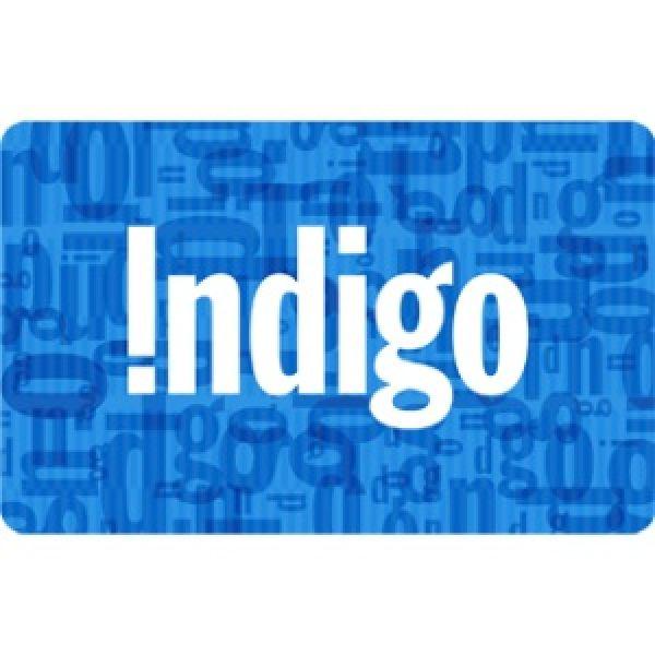 Carte-cadeau Indigo de 5$